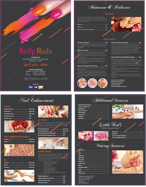 Picture of Menu #007 (2 pages 4 views)