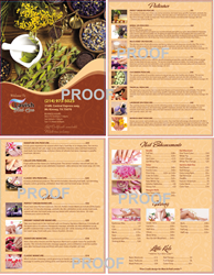 Picture of Menu #012 (2 pages 4 views)