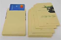 Picture of 1000 Yellow Mini Envelopes (2.7 x 4)