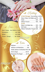 Picture of Poster Price List # 036