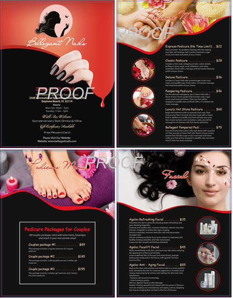 Picture of Menu #030 (2 pages 4 views)