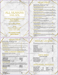 Picture of Menu #033 (2 pages 4 views)