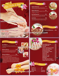 Picture of Menu #036 (2 pages 4 views)