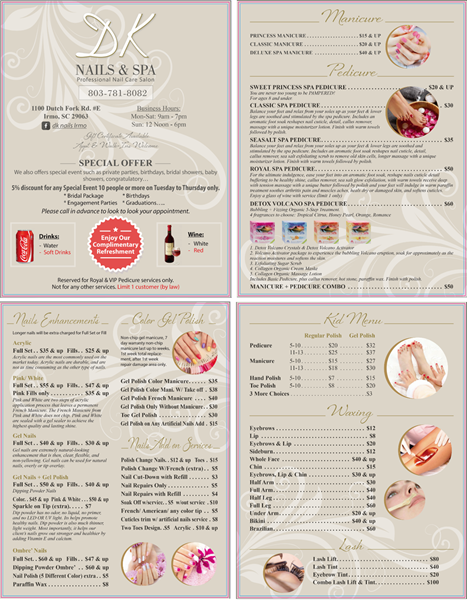 Picture of Menu #037 (2 pages 4 views)