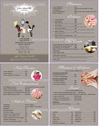 Picture of Menu #038 (2 pages 4 views)